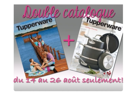 TUPPERWARE - double catalogue 2016.001